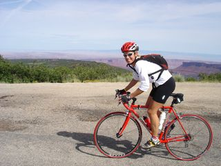 Moab townhome photo - Road bike the La Sal Mountain Loop - 60 miles and 5500 feet of climbing.