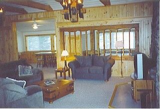Embden cottage photo - The windows in master bedroom is 45' from water