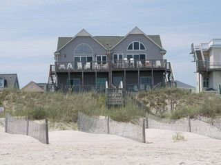 Emerald Isle house photo - View of the Dunes from the Beach