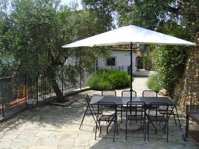 Dolcedo chateau / country house rental - Dining Area and Patio