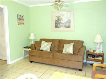 Jekyll Island condo rental - Living Area