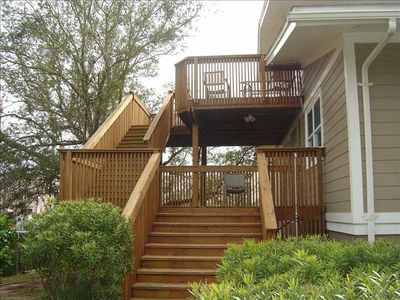 Over 2000 Sq Ft of Decks, Great Views, Private entry to Upper Level Living!
