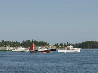 Deer Isle - Stonington house photo - Boats