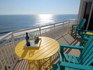 Gateway Grand Ocean City condo photo - Tranquility & Peace come naturally on our balcony!