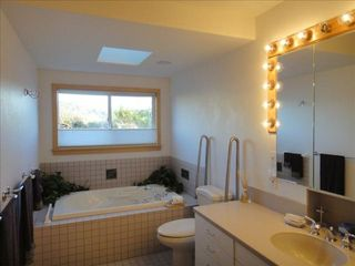 Trinidad house photo - Master bathroom with jacuzzi soaking tub and separate shower