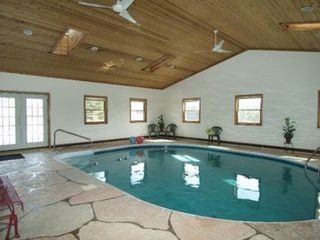 Brethren house photo - Heated indoor pool