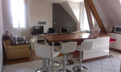 Apartment Blois-Chambord, ideal to stay with friends or family!