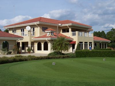 Impressive Clubhouse of Southern Dunes Golf Club