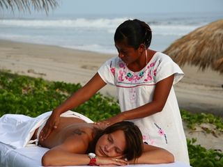 Puerto Escondido villa photo - This could be you, enjoying your free massage!!