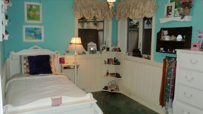 Downstairs, Girls Bedroom w/Twin trundle beds