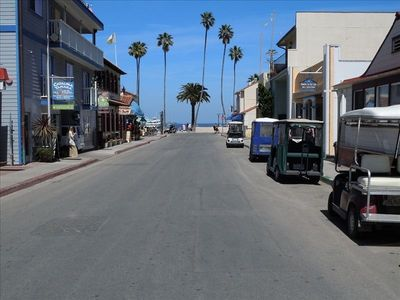 Street Scene Towards Beach from Front Door