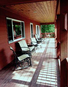 Front porch area.