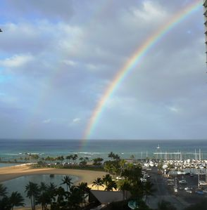 Waikiki condo rental - Hawaii- Rainbow State!