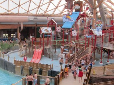 The Massanutten indoor waterpark