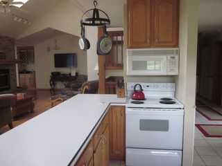 Galena house photo - Well Equipped Kitchen is open to Living Room and Dining Room