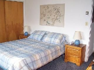 Mount Snow condo photo - Master bedroom with Flat Panel TV