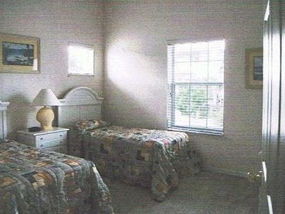 Comfortable Twin Bedroom. Second Full Bathroom