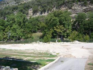 New Braunfels condo photo - road down to river