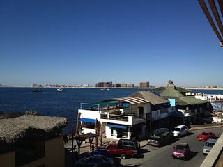 Puerto Penasco house photo - Down Town view looking at Sandy Beach and Harbor
