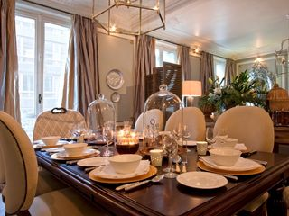 8th Arrondissement Champs Elysees apartment photo - Fine Dining