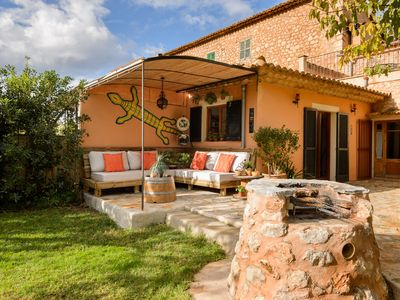 **SÒLLER** COTTAGE WITH COZY GARDEN AND POOL, STUNNING MOUNTAIN VIEWS.