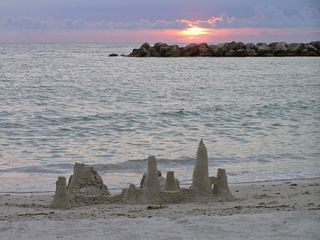 St Pete Beach condo photo - Sandcastle time on St. Pete Beach