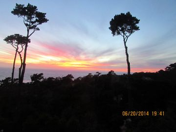 Carmel Highlands house rental - Sunset June 2014