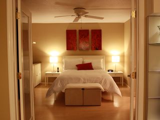 West Palm Beach condo photo - Bedroom with queen size bed