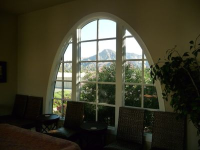 Play Pool And Enjoy The Beautiful Mountain Views Through The Catheral Windows...