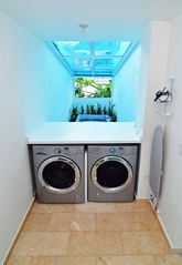 San Juan apartment photo - Convenient washer and dryer is share with our other unit Mar