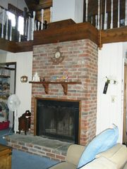 Slaughter Beach house photo - Fireplace