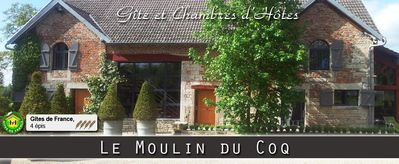Moulin du Coq - 4 épis -  Cottage for 14 people