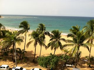 Luquillo condo rental - View from the balcony