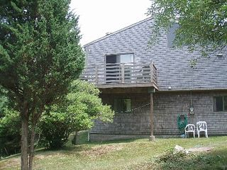 Chilmark house photo - Back of house.