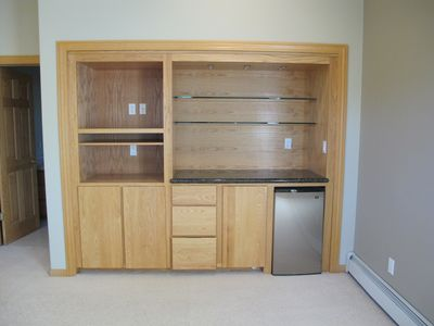 Junior suite - with storage space and fridge.