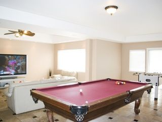Black Bart house photo - Play pool while watching the Sunday Football after the long weekend of skiing.