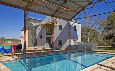 Austin house rental - Pool view #1