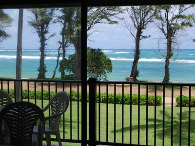 Amazing view of BEACH from Condo lanai.  Awesome sunrises and ocean breezes.