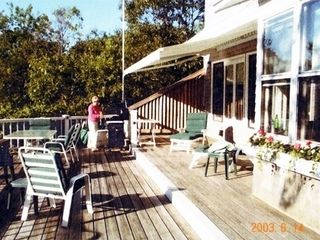 Oak Bluffs house photo - Oversized (2) Level Deck