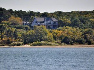 Sandy Point - The House - Sits Serenly Tucked Away In The Wooded Hill Above The Lagoon
