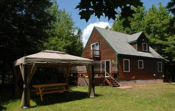Acadia National Park cottage rental - Your private yard with deck and gazebo