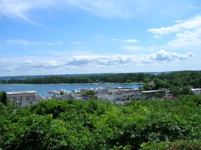 The nearby village of Harbor Springs