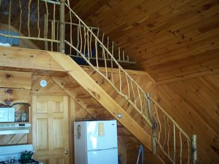 Lake Algonquin - Wells cottage photo - Stairway to Loft