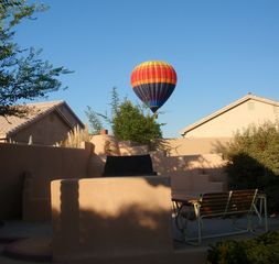 Albuquerque house photo - Listen for the hissing of hotair ballons as they pass overhead.