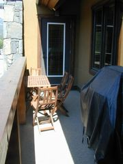 Canmore condo photo - Large deck