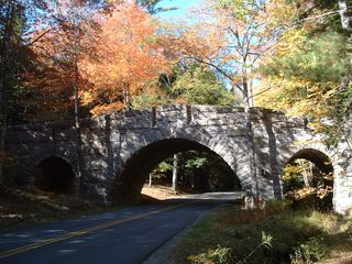 Acadia National Park cottage photo - Carriage Rd. bridge - 1/2 mile from Hidden Place
