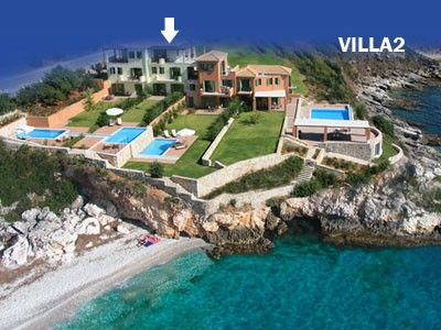 Villa Brio complex.Your balcony on the Ionian Sea!