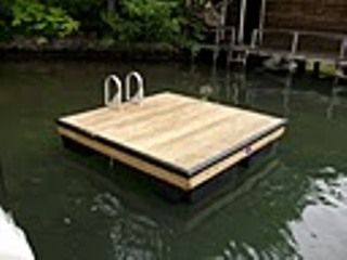 Swim Platform with Access from Private Beach Area