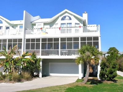 Tybee Island house rental - Outside of this beautiful home