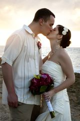 St. Croix villa photo - Bride & Groom Kissing